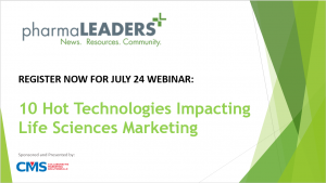 Register for Webinar – 10 Hot Technologies Impacting Life Sciences Marketing